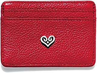 Leather 3 3//4 X 2 1//4 X 1//4 Brighton Love Beat Card Case