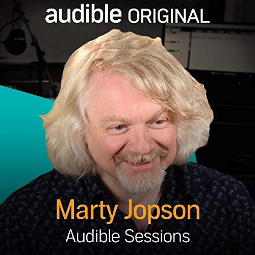 Marty Jopson audiobook cover art