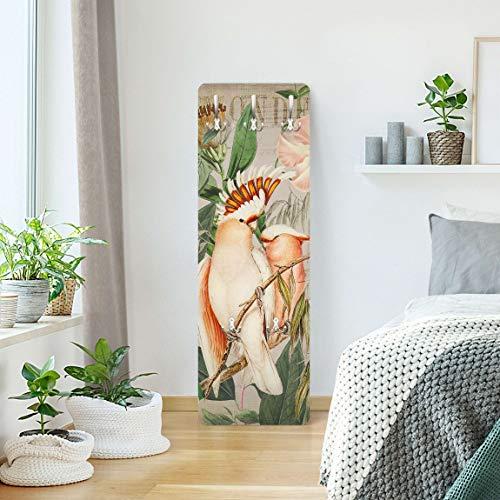 Bilderwelten Perchero - Colonial Style Collage - Galah 139 x 46cm