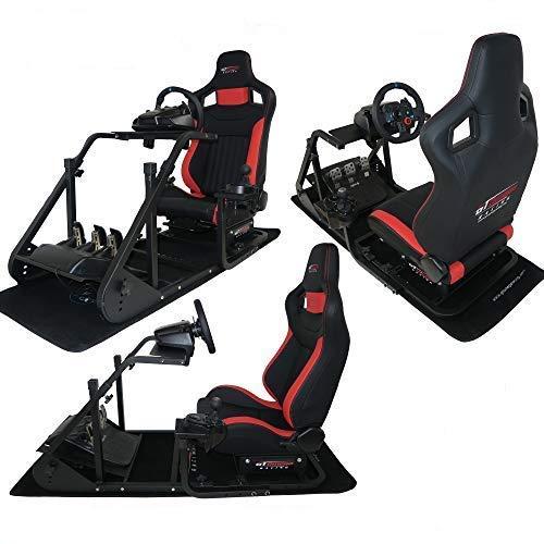 SHIOUCY Stand Volant Wheelstand simulateur de Course pour Les Jeux de Course sur PC et Console de Jeux pour Logitech SlimG29 G25 G27