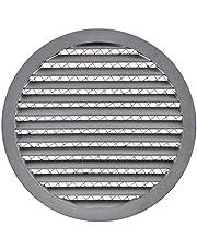 Aluminium mm weerbestendig rooster - rond ventilatierooster uitlaatrooster rooster met muizenbeschermingsrooster