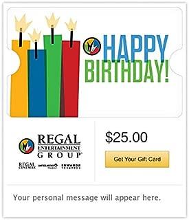 Regal Cinemas Email Gift Card