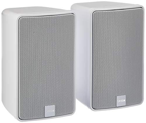 Canton Plus GX.3 - Altavoz de doble vía para pared (100 W), color blanco
