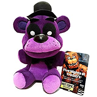 """Official Funko Five Nights At Freddy's 6"""" Limited Edition Shadow Freddy Bear (Hot Topic) Exclusive FNAF Plush Doll Toy (B01DHMGQ50)   Amazon price tracker / tracking, Amazon price history charts, Amazon price watches, Amazon price drop alerts"""