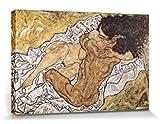1art1 Egon Schiele - Die Umarmung, Die Liebenden II, 1917