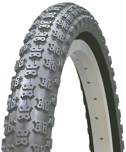 Kenda Comp III Style BMX Wire Bead Bicycle Tire, Blackwall, 20-Inch x 2.125-Inch