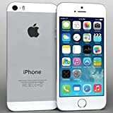 iPhone 5S Silver 16GB Unlocked Att Tmobile Sprint Metro Cricket Straight Talk (Renewed)