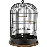 Zolux Jaula para pájaros Vintage Lise diámetro 38 cm