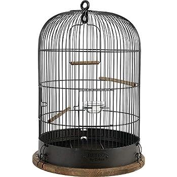 Zolux Cage pour Oiseaux Vintage ''Lisette'' DIAMÈTRE 38 CM