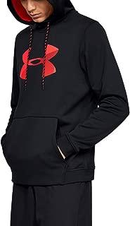 Men's Armour Fleece Pullover Hoodie Big Logo Graphic