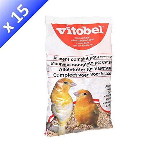 VITAKRAFT Menu canari coussin - Mélange de graines - Pour canaris - 850g (x15)
