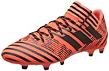 adidas Nemeziz 17.3 Fg, Chaussures de Football Homme, Blanc, Multicolore (Solar Orange/core Black), 40 2/3 EU