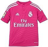 adidas - Camiseta Junior 2ª Equipación Real Madrid CF 2014-2015, Color Rosa, Talla 164 cm