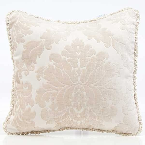 Glenna Jean Victoria Pillow With Cord Damask