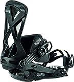 Nitro Snowboards Herren Phantom Carver '20 Premium Freeride Carving Carbon Bindung Snowboardbindung, Attacco per Snowboard. Uomo, Ultra Black, M