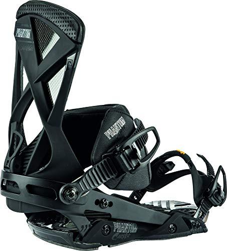 Nitro Snowboards Herren Phantom Carver '20 Premium Freeride Carving Carbon Bindung Snowboardbindung, Ultra Black, L