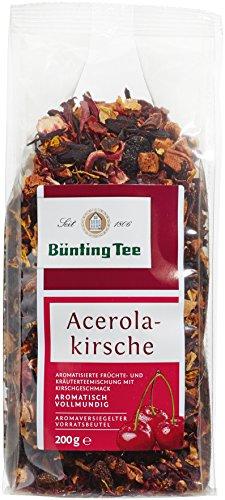 Bünting Tee Acerola-Kirsch 200 g lose, 6er Pack (6 x 200 g)