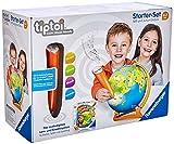Ravensburger Tiptoi Starter Set 00068-Juego de bolígrafo y globo junior (para niños a partir de 4 años) (00068) [Exclusivo en Amazon]