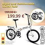 Sport & Freizeit Faltrad 20 Zoll, Klappräder Damen,...