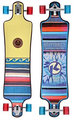 Kryptonic Retro Free Spirit longskate, Multicolor