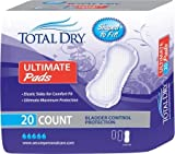 Secure Personal Care Products TotalDry Bladder Control Pad - SP1596CS - 180 Each / Case