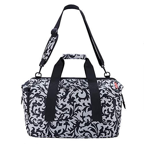 KALIDI reisentasche Sporttasche Weekender Großräumige Handtasche Schultertasch Herren Damen Reisetasche