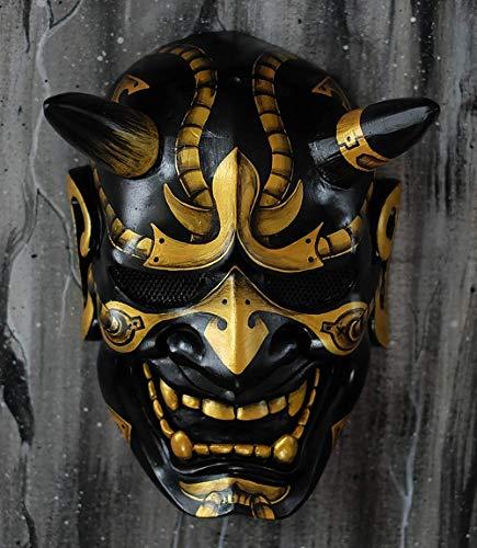 Tripple_777 Hannya Kabuki Demon Oni máscara de airsoft BB pistola disfraz de Halloween malvado cosplay MA243