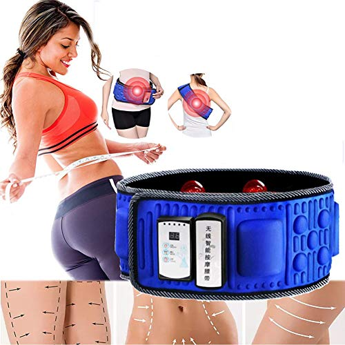 Elektrisches Vibrationsmassagegerät, Schlankheitsgürtel, Fat Burning Bewegung Durchblutung Verbessern Für Bauch Beine Schenkel