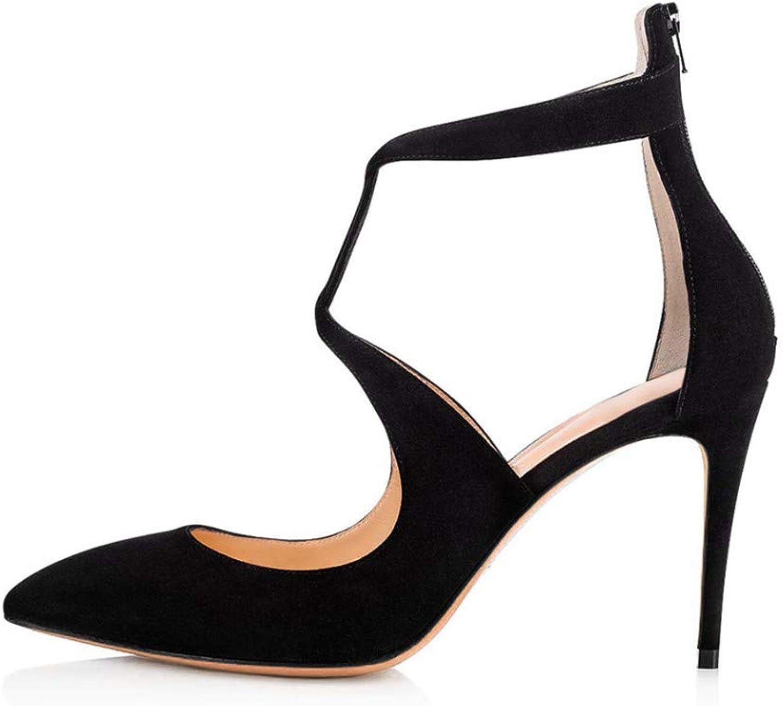 YOJDTD Schuhe Damenschuhe Sandalen Sandalen mit hohem Absatz Damenschuhe für Damen, schwarz, 40  | Zürich Online Shop