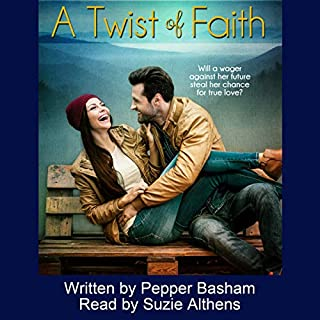 A Twist of Faith audiobook cover art