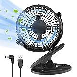 Mini ventilatore portatile di raffreddamento della tavoletta del USB Ventilatore personale silenzioso della tavoletta da tavolo in movimento Rotazione a 360 ° per ufficio, casa, camera
