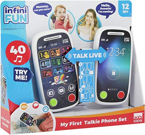 INFINIFUN I18040GI First Phone walkie Talkie, Wh