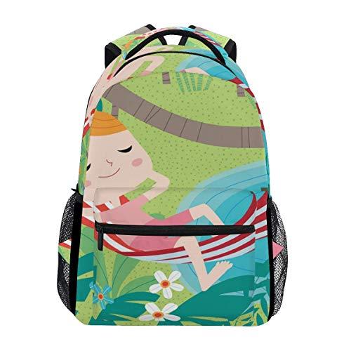 Mochilas escolares niña acostarse libreros bolsa para niñas niños elemental