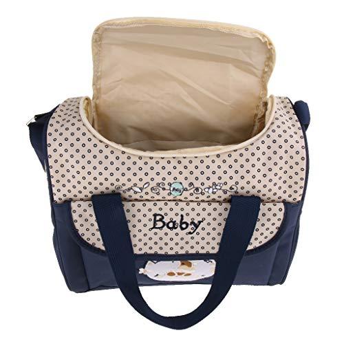 Generic Sac à Main De Maternité Changeant Pour Bébé - Bleu foncé, 29x14x26cm