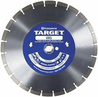 Husqvarna Construction Products 542774462 12 Inch by .118 by 1 Drive Pinhole 20mm B VH5 High Speed Diamond Blade