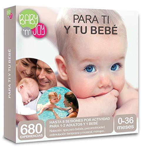 NJOY Experiences - Caja Regalo - PARA TI Y TU BEBÉ - 680 experiencias a escoger para bebés de 0-36 meses
