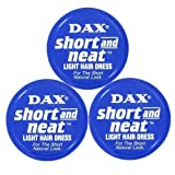 Dax Wax Blue Short And Neat Triple Pack by DAX