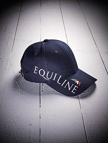 Equiline Unisex Cap blau mit großem Logo und Schriftzug