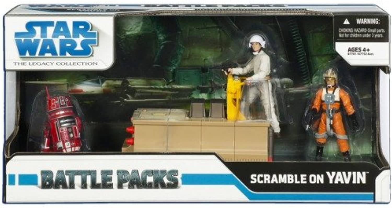 Hasbro Star Wars Battle Pack - Scramble on Yavin by Hasbro Toys