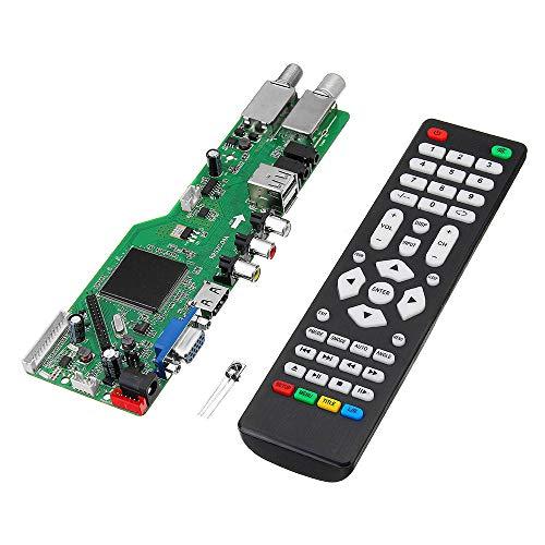 KASILU YHJ322 5 OSD Plot RR52C.04A Support Digital Signal DVB-S2 DVB-C DVB-T2/T ATV Universal LCD Driver Board Dual USB Play Media With Distant High-performance
