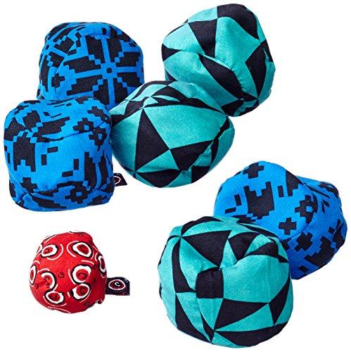 Zoch 601105015 Crossboule c³ Set Mountain, der ultimative Boule Spaß mit flexiblen Bällen für drinnen und draußen, ab 6 Jahren