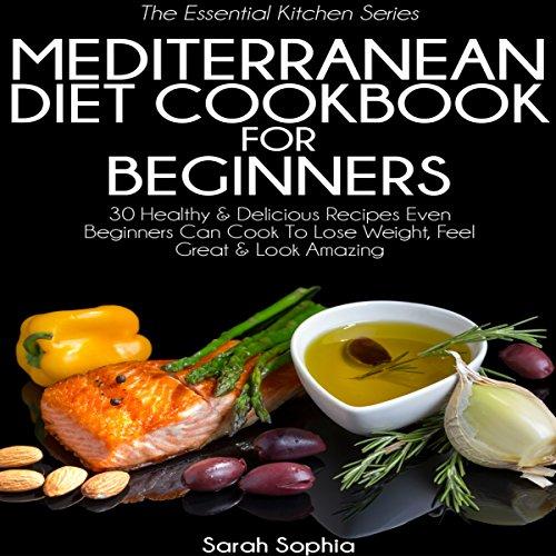 Mediterranean Diet Breakfast Cookbook audiobook cover art
