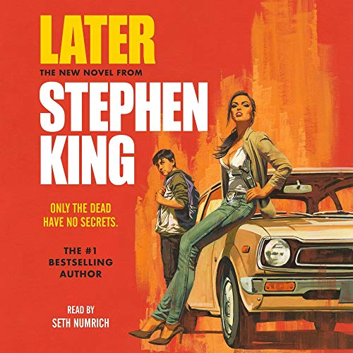 Later Audiobook By Stephen King cover art