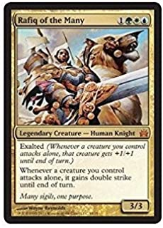 Magic: the Gathering - Rafiq of the Many - From the Vault: Legends - Foil