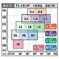シマノ(SHIMANO) ブラックパールフィット・鮎タイツ(ハイブリッドタイプ) LLB ブラック TI-061R