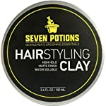 Beauty Shopping Hair Styling Clay For Men 3.4 fl oz – Matte Finish – High Hold –