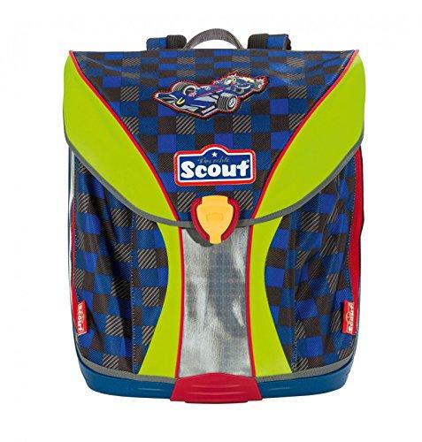 Scout 71500772000 Schulranzen-Set, 40 cm, Dunkelblau