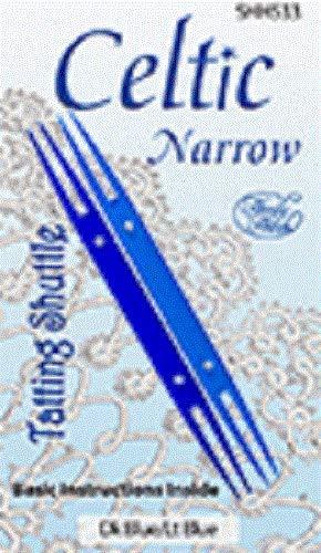 Celtic Narrow Tatting Shuttles Package of 2 Dark and Light Blue