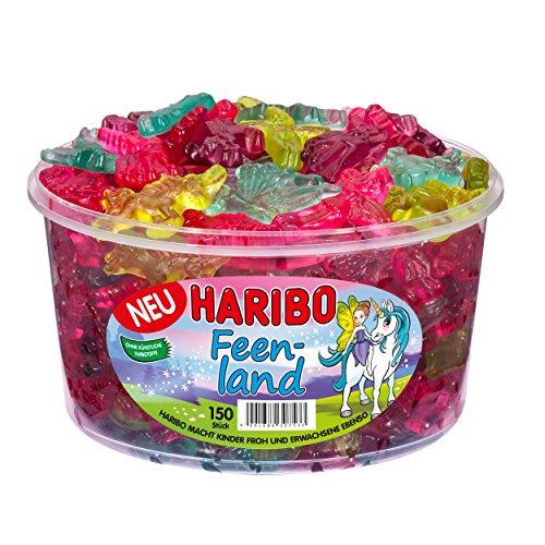 Haribo - Feenland Fruchtgummi Einhörner Feen - 150St/1200g