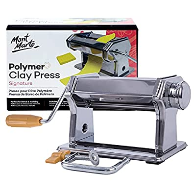 Mont Marte Polymer Clay Press review